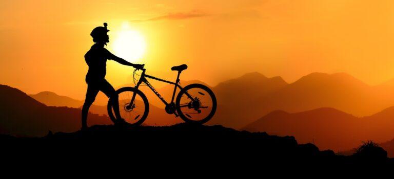Kom i skoven med en mountainbike